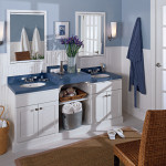 Bathroom and Kitchen Cabinets in Denver and Boulder | Kreative Kitchens | his and hers bathroom cabinets