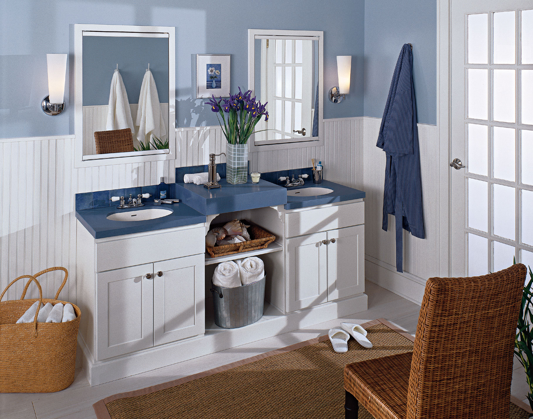Bathroom And Kitchen Cabinets In Denver And Boulder | Kreative Kitchens |  His And Hers Bathroom