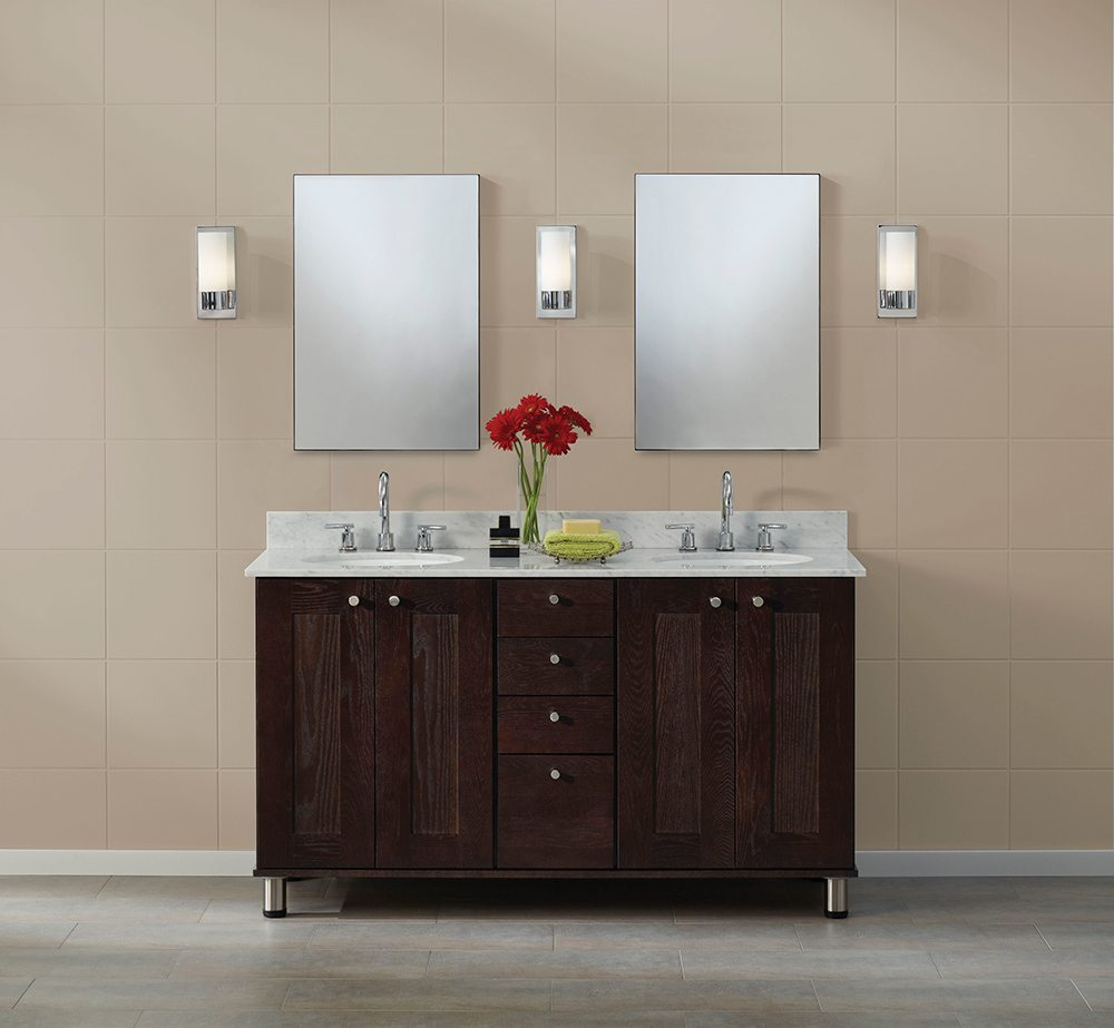 Top 6 bathroom design trends for 2013 kreative kitchens for Bathroom designs 2013