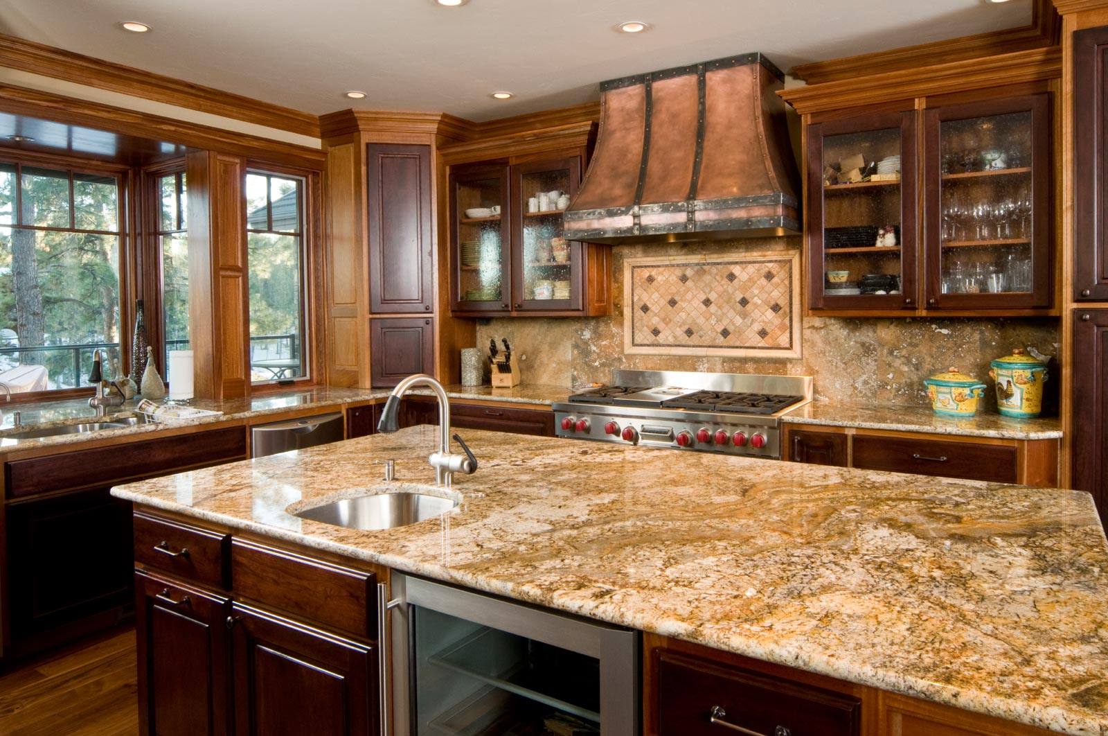 Popular kitchen countertops best home decoration world class Granite kitchen countertops pictures