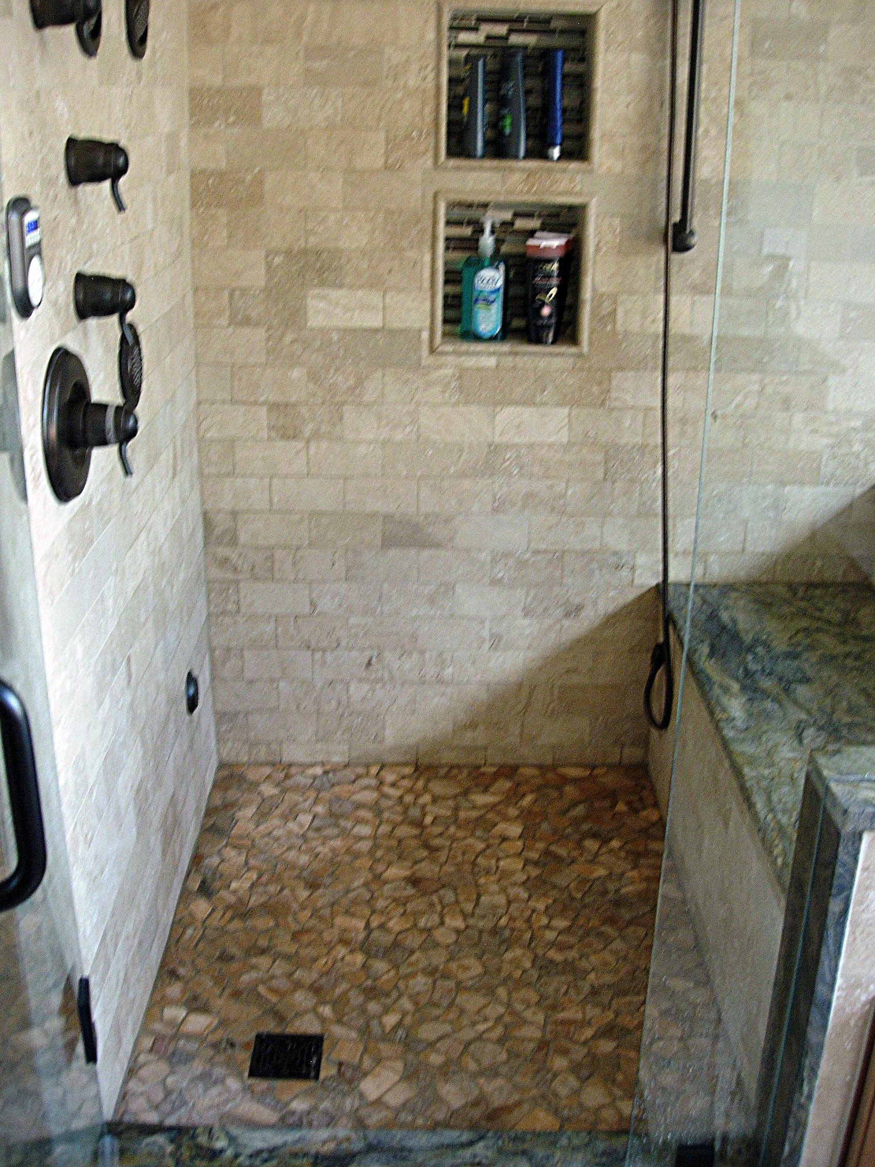 Project highlight conifer steam shower kreative for Build steam shower