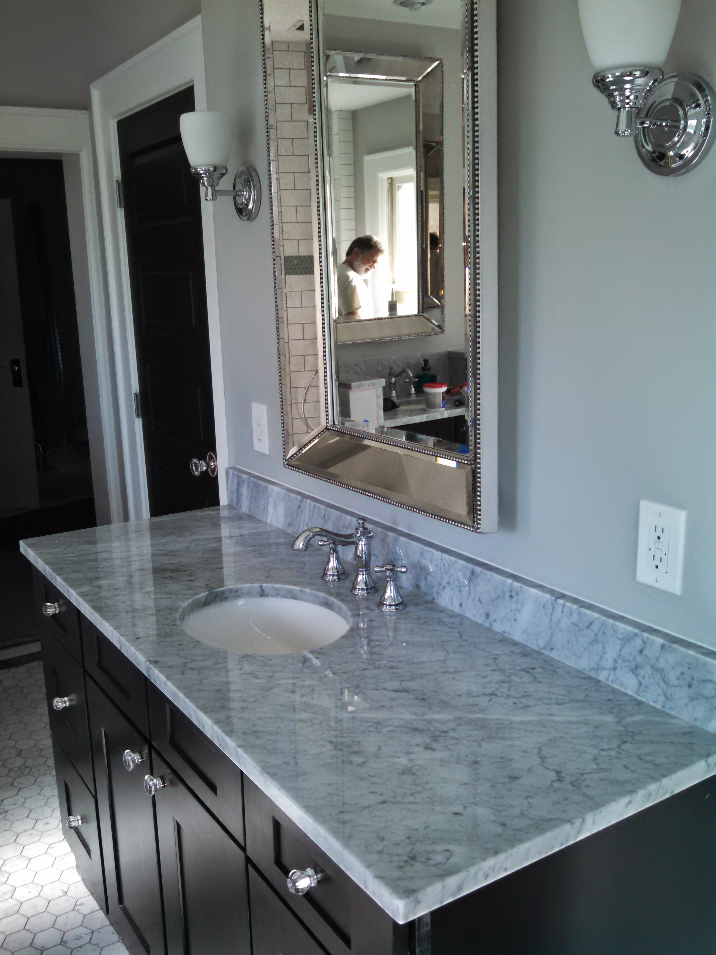 denver bathroom remodeling project