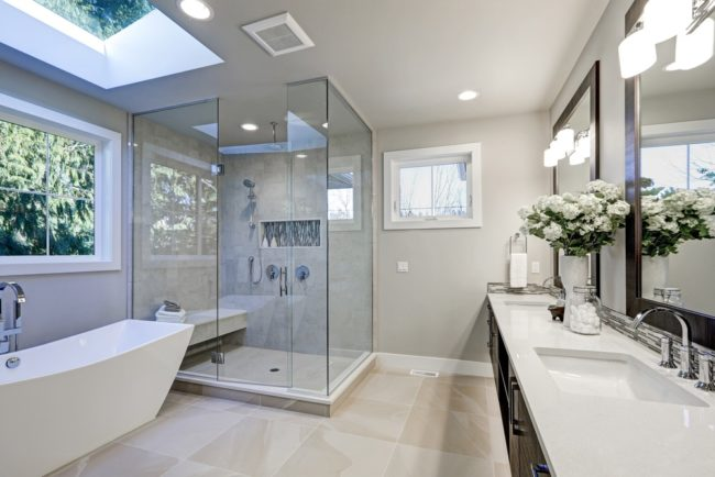 Illuminating ideas about bathroom remodel lighting